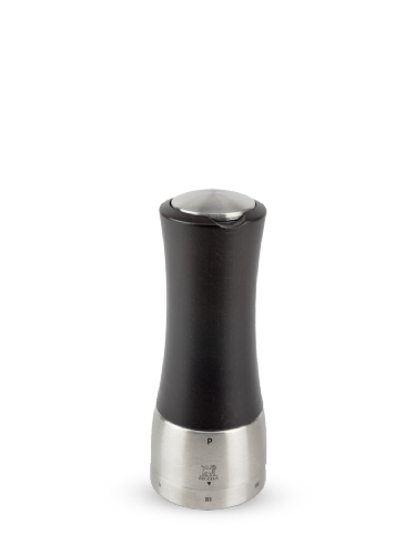 Peugeot Madras U-Select Stainless Steel & Wood Pepper Mill 16cm